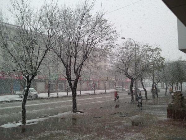 2011年冬天的第一场雪